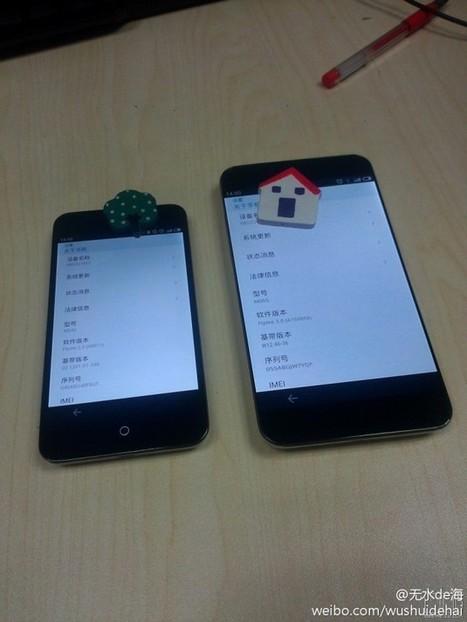 Des photos des nouveaux smartphones de Meizu ont filtré | Geeks | Scoop.it