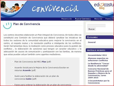 Convivencia » Plan de Convivencia | itodos | Scoop.it