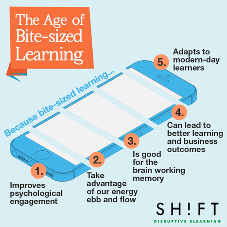 The Age of Bite-sized Learning: What is It and Why It Works | Educational technology , Erate, Broadband and Connectivity | Scoop.it