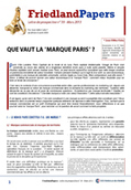 "Que vaut la ""marque Paris""? 