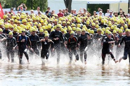 Le championnat du monde de triathlon en juin au Malsaucy - Le Pays BHM | le journal des livres | Scoop.it