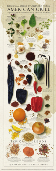 The American Kitchen SPICES Print Series | Patterns Network Denver | Scoop.it