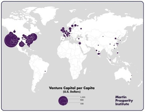 Top 20 worldwide metros with the highest levels of venture capital investment; Toronto is #12 | More Commercial Space News | Scoop.it