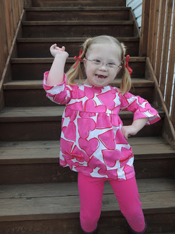 Ella Grace with the Pretty Face | Parent's Blogs - Down syndrome | Scoop.it