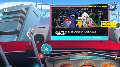 DreamWorks Animation Retools 'Turbo Fast' Site to Better Steer Kids to Netflix Show | Tracking Transmedia | Scoop.it