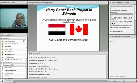 Harry Potter Book Project in Edmodo: A Collaborative Initiative Between Students from Egypt and Canada by Ayat Tawel | Internet 2013 | Scoop.it