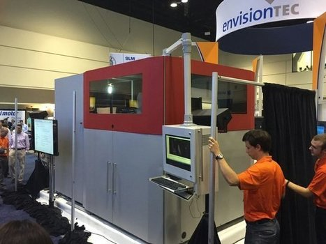 EnvisionTEC Reveals SLCOM 1 for 3D printing composites at Rapid 2016 | 3D Printing | Scoop.it