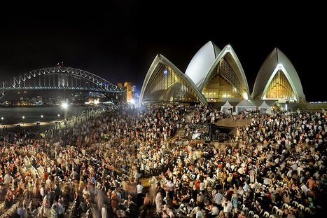 Iconic Sydney Opera House invites the public to venture behind the scenes at its 10th open day | Concert Halls, Auditoriums & opera houses | Scoop.it