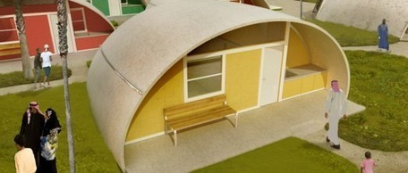 Colorful Binishell Dome Homes Made from Inflatable Concrete Cost Just $3,500 | The city of tomorrow | Scoop.it