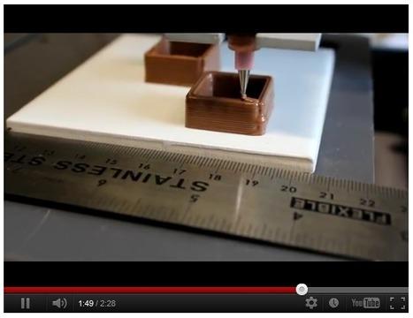 L'impression 3D se démocratise par le chocolat | REPRAP | Scoop.it