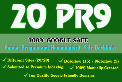 sonyta : I will manually create 20 Top Quality backlinks from High PR9 Authority Sites | SEO Link Building | Scoop.it