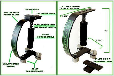 Steady Dragon Camera Stabilizer » CheesyCam | MooS | Scoop.it
