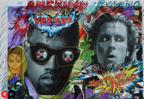 "James Franco & Other Artists ""Add Graffiti"" to ""Yeezus"" Posters 