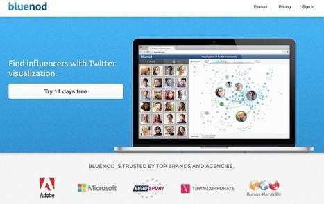Bluenod, identifier et suivre les influenceurs sur Twitter | Outils Community Manager | Scoop.it