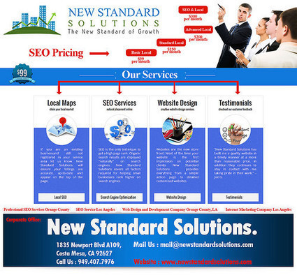 Professional SEO in Orange County | New Standard Solutions | Scoop.it