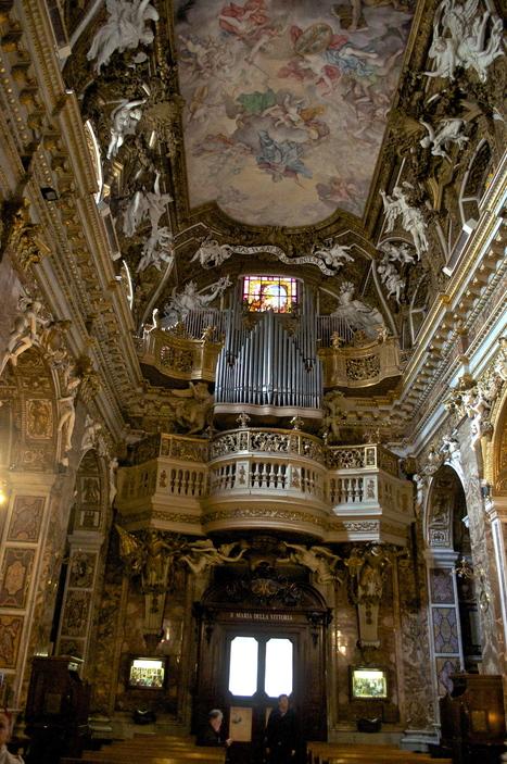 Santa Maria della Vittoria; Rome, Italy | Italia Mia | Scoop.it