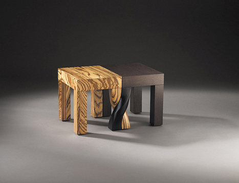 Intertwined Stools by Kan & Lau Design | Design | Scoop.it
