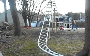 Family's Backyard Roller Coaster Is a Parent's Worst Nightmare   Morning Show prep   Scoop.it