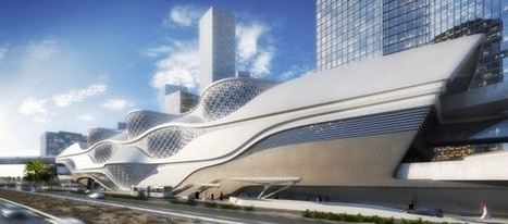 Zaha Hadid to construct new metro station in Riyadh, Saudi Arabia | Railwaybulletin.com | Rail and Metro News | Scoop.it
