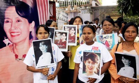 Release | Aung San Suu Kyi: an international icon of resistance and hope | Scoop.it