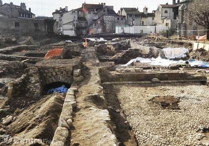 Une proposition de l'association Mise en valeur des vestiges pour le site de Saint-Géraud | Auvergne Patrimoine | Scoop.it