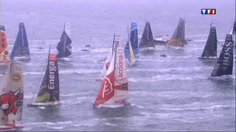 Vendée Globe : Gabart vogue vers la victoire - Sport - TF1 News | ___Sport(s)___ | Scoop.it