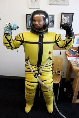 Revolutionary New Space-Diving Suit Will Rival Anything You've Ever Seen In The Movies | The NewSpace Daily | Scoop.it