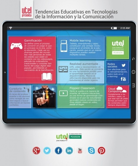 Tendencias educativas en TIC's #infografia | Sinapsisele 3.0 | Scoop.it