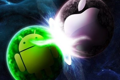 The War Of The OS: Android L vs iOS8 - Voniz Articles | Tech News Voniz Articles | Scoop.it