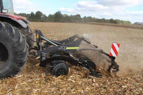 Sky Agriculture : des déchaumeurs DDI portés | Production végétale | Scoop.it