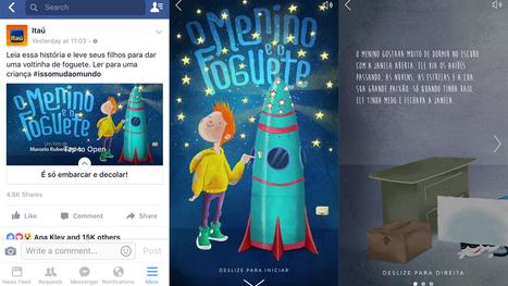Itaú usa Facebook Canvas para criar livro digital | Evolução da Leitura Online | Scoop.it