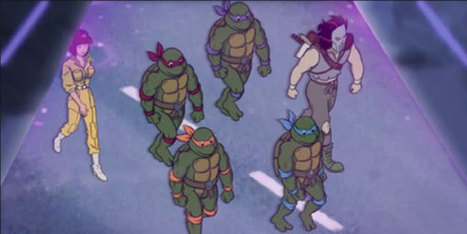 VIDEO: New TMNT Special Reunites Original 80s Voice Cast | Cartoons for Kids | Scoop.it