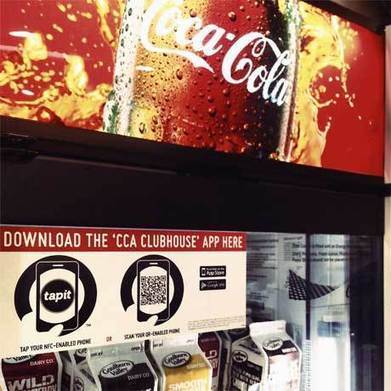 Coca-Cola runs NFC promotion in 100 stores | NFC solutions | Scoop.it