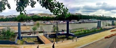 A Parigi: i giardini galleggianti sulla Senna   Architecture & Gardens   Scoop.it