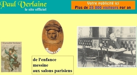 Le site officiel de Paul Verlaine ??? | Informatique | Scoop.it