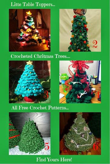 Sanderella's Crochet Blog: *Christmas trees crochet free patterns* | Crochet | Scoop.it