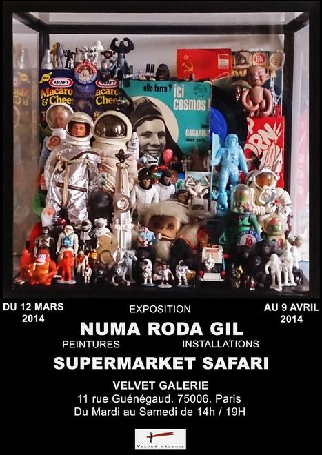 SUPERMARKET SAFARI Exposition Numa Roda-Gil @ Velvet Galerie | JetSociety | Velvet Galerie ,Mobilier design XX eme , Architecture utopique 1970 , Pop culture | Scoop.it