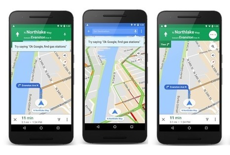 Google Maps gains a bunch of voice commands for hands-free navigation | Learning*Education*Technology | Scoop.it
