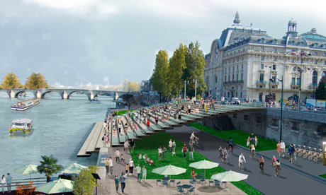 Paris to return Seine to the people with car-free plan... | green streets | Scoop.it