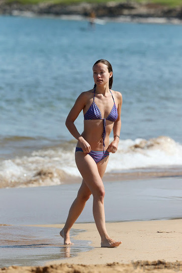 Olivia Wilde sexy wet ass in skimpy bikini at the beach in Maui   VipsMag   Sexy Pics   Scoop.it