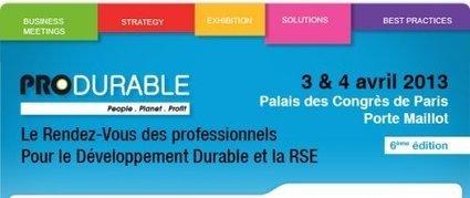 PRODURABLE 2014 : le R.O.I de la RSE : PARLONS VALEURS ... - [CDURABLE.info l'essentiel du développement durable] | ENTREPRISE & ENVIRONNEMENT | Scoop.it