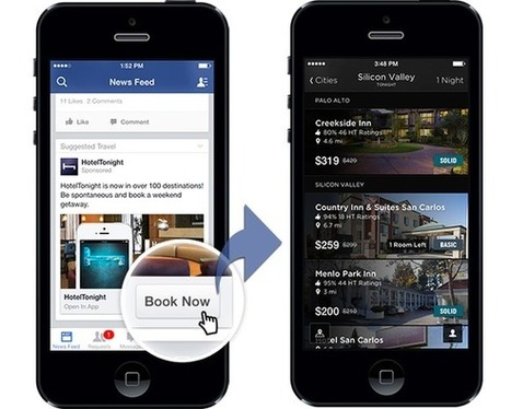 Facebook's app ads want you to act. Now. | TechHive | Branded Entertainment | Scoop.it