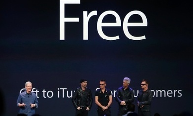 U2's Apple launch: what it means for the band – and the company | Kill The Record Industry | Scoop.it
