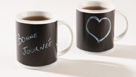 Le mug ardoise qui illumine votre journée - Twenga Magazine | Mode | Scoop.it