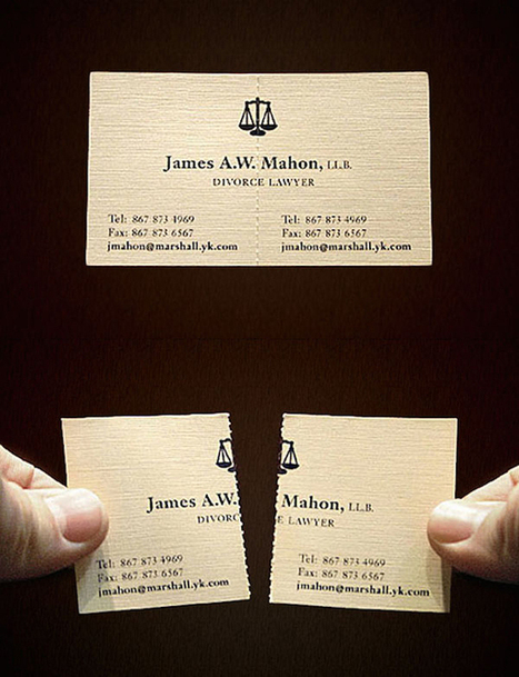 32 Creative And Unique Business Cards That Stand Out | Digital Marketing | Scoop.it