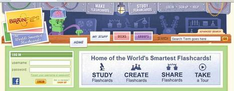 BrainFlips Online Flashcards   30 Sites in 60 Minutes   Scoop.it