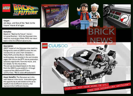 LEGO's Back to the Future Set Includes a DeLorean and Two Minifigures - GadgeTell   Heron   Scoop.it
