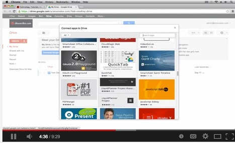 5 Great Google Drive Video Tutorials for Teache... | Google in Libraries and Education | Scoop.it