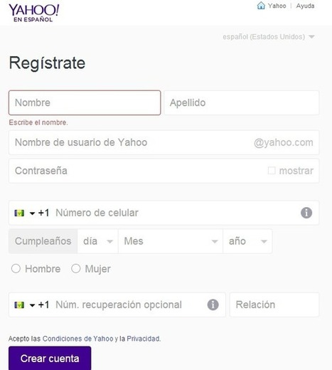 Crear Correo Yahoo | crearcorreo.mx | Scoop.it