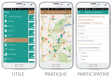 ConsoVRAC, l'application gratuite pour localiser les commerces qui proposent la vente en vrac - Nature Obsession | Seniors | Scoop.it